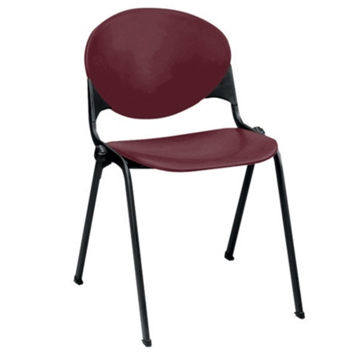 400lb. Capacity Heavy-Duty Plastic Stack Chair
