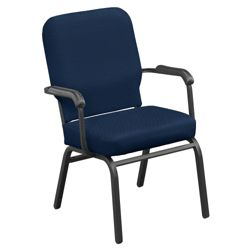 Fabric Stack Chair - 500 lb Weight Capacity