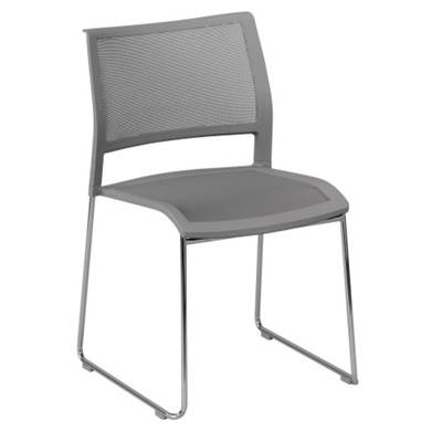 All-Purpose Mesh Back and Seat Stack Chair