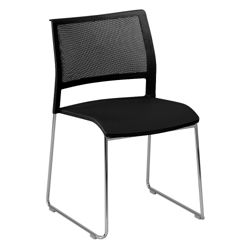 All-Purpose Mesh Back and Poly Seat Stack Chair