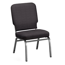 Solid Upholstery Armless Big & Tall Wingback Stack Chair