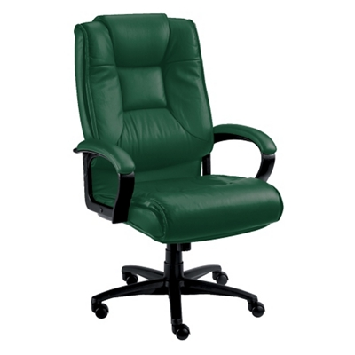 High-Back Leather Conference Chair