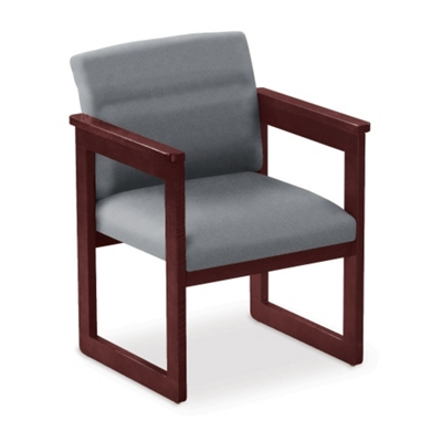 Extended Arm Conference Chair
