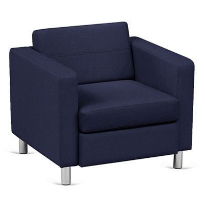 Atlantic Lounge Chair in Designer Upholstery