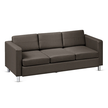 Atlantic Faux Leather Sofa 53035