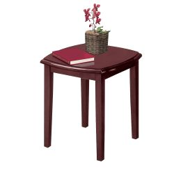 Traditional Solid Wood End Table