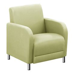 "Parkside Guest Chair in Polyurethane or Fabric - 27""W"
