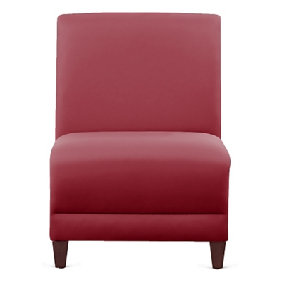 "Parkside Armless Guest Chair in Polyurethane or Fabric - 21""W"