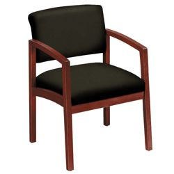 New Castle Fabric Guest Chair with Arms