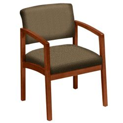 Designer Upholstery Guest Chair with Arms