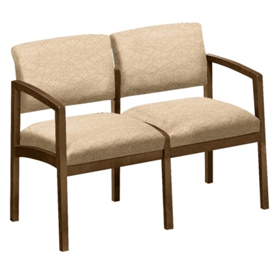 New Castle Designer Upholstery Two Seater
