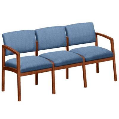 New Castle Designer Upholstery Three Seater