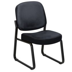 Armless Guest Chair in Fabric