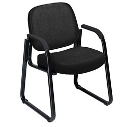 Fabric Guest Chair with Arms