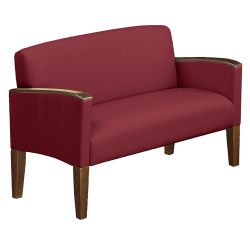 Solid Fabric Belmont Loveseat