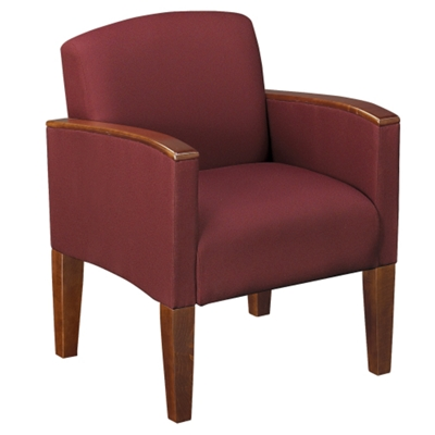 Solid Fabric Belmont Guest Chair