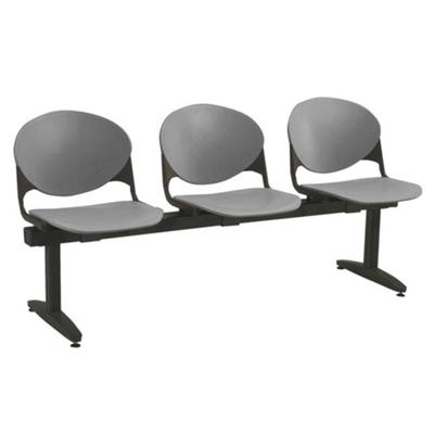 Three Seat Beam Bench