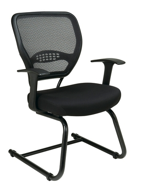 Cantilever Mesh Back Guest Chair