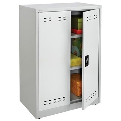 """Steel Storage Cabinet- 42""""H"""