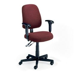 Mid Back Ergonomic Chair with Arms