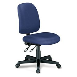 Mid Back Armless Ergonomic Chair