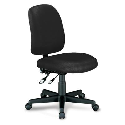 Mid Back Armless Ergonomic Chair