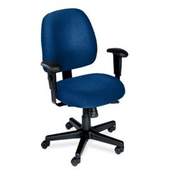 Eight-Way Ergonomic Chair with Arms