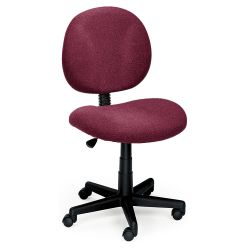 Armless Ergonomic Task Chair
