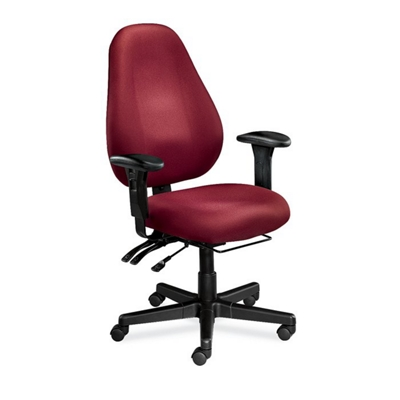 High Back Ergonomic Chair with Arms