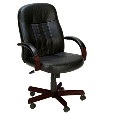 Hardwood Frame Bonded Leather Computer Chair