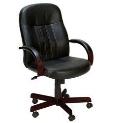 Hardwood Frame Bonded Leather Computer Chair