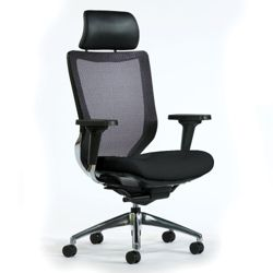Code Mesh Back Chair with Headrest