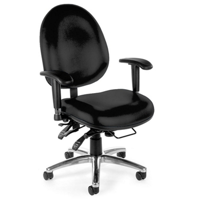 24-Hour-Use Vinyl Big and Tall Chair