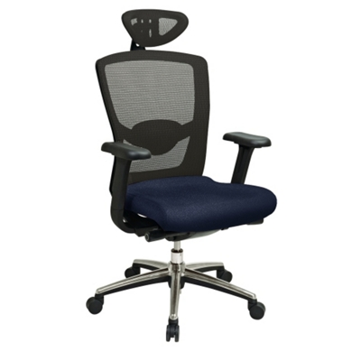 Elan High-Back Mesh Chair with Headrest