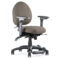 Petite Chair With Footrest