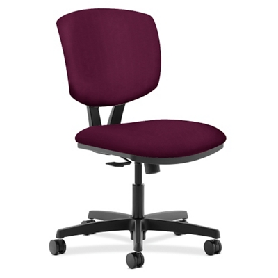 HON Volt Armless Fabric Task Chair