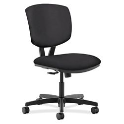 HON Volt Armless Vinyl Task Chair