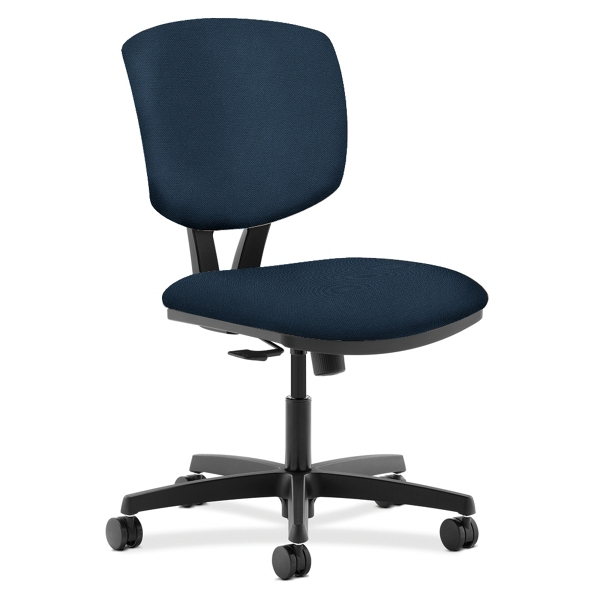 HON Volt Armless Vinyl Task Chair 56918 and more Lifetime Guarantee