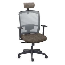 Ambient Executive High Back Chair with Headrest and Hanger