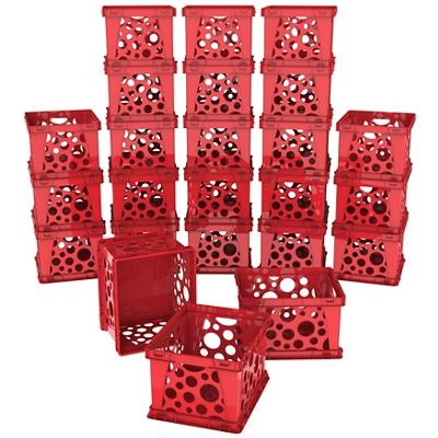 Set of 24 Mini Crates