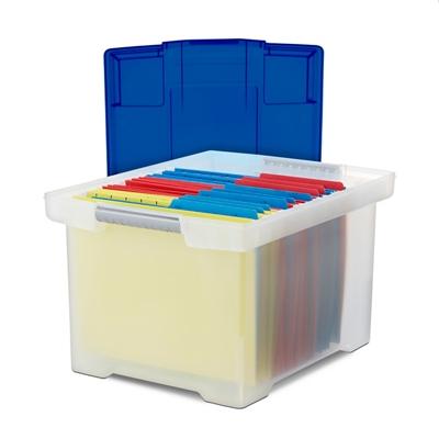 "Storage File Tote - 18.5""W x 14.25""D"