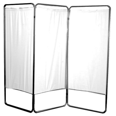 "Three Panel Folding Privacy Screen - 68""H"