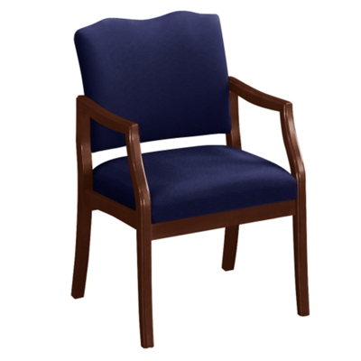 Spencer Arm Chair in Solid Fabric