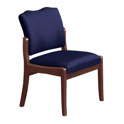 Spencer Side Chair in Solid Fabric