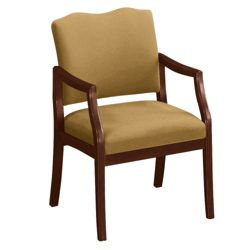 Spencer Arm Chair in Vinyl or Fabric