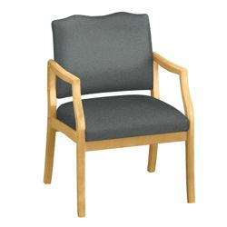 Arm Chair in Fabric or Vinyl with 400lb Weight Capacity