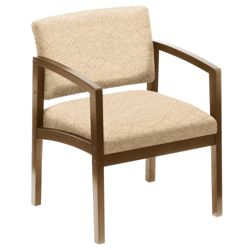 New Castle 400 lb. Capacity Designer Upholstery Guest Chair with Arms