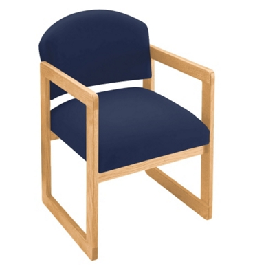 Sled Base Guest Chair with Arms