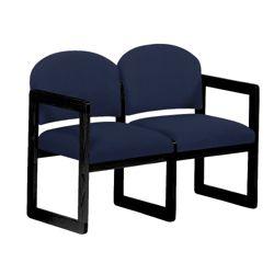 Sled Base Two-Seat Sofa
