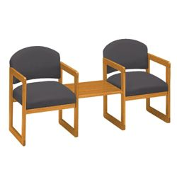 Two Chairs with Center Table